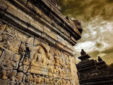 Detalle de un templo.
