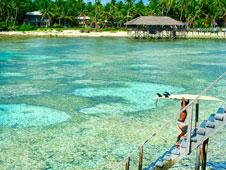 La costa este de Siargao se llena de surfers de todo el mundo.