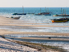 Mozambique cuenta con la friolera de 2.500 kilómetros de costa. Foto: Shutterstock.