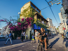 Tel Aviv, la ciudad más cosmopolita y moderna de Israel. Foto: Shutterstock.