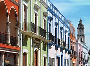 El patrimonio colonial de Campeche es uno de sus muchos atractivos. | Foto: Shutterstock