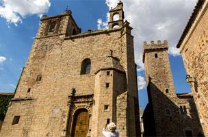 La catedral vieja de Plasencia.