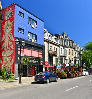 Panorámica del Vieux Montreal con la fabulosa basílica de Notre-Dame a la derecha de la imagen. | Foto: Shutterstock.